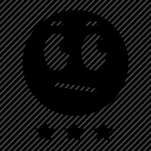 average, emoji, emoticon, expression, face, ok, star icon