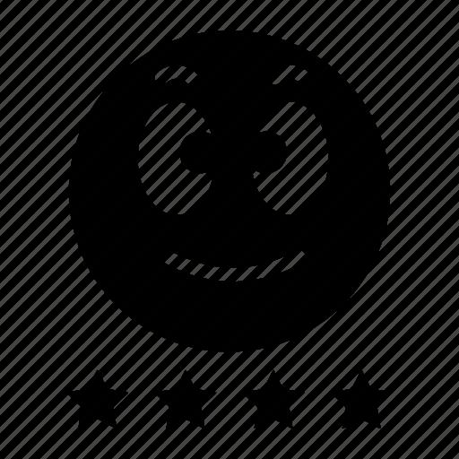 emoji, emoticon, expression, face, good, happy, smile icon