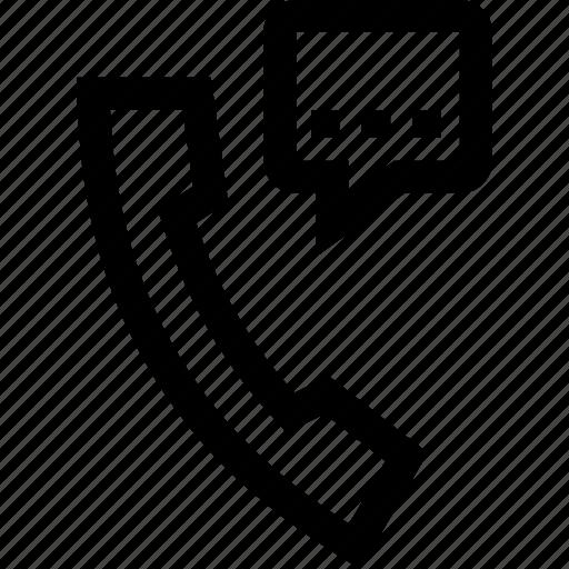 conversation, phone, talking, telephone icon