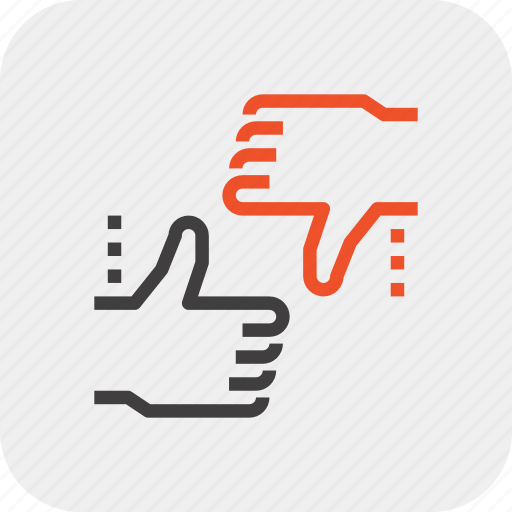 dislike, feedback, hands, like, rating, review, vote icon