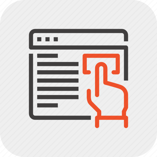 finger, hand, help, information, support, touch, web icon