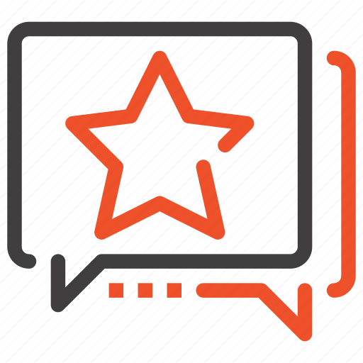Communication, message, rank, ranking, rating, review, star icon - Download on Iconfinder