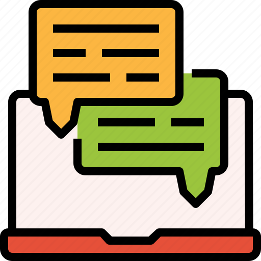 box, chat, live, notebook, online, service, support icon