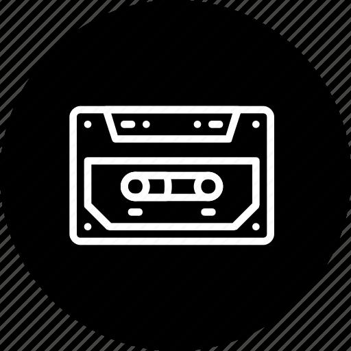 audio, cassette, message, music, prerecorded, record icon