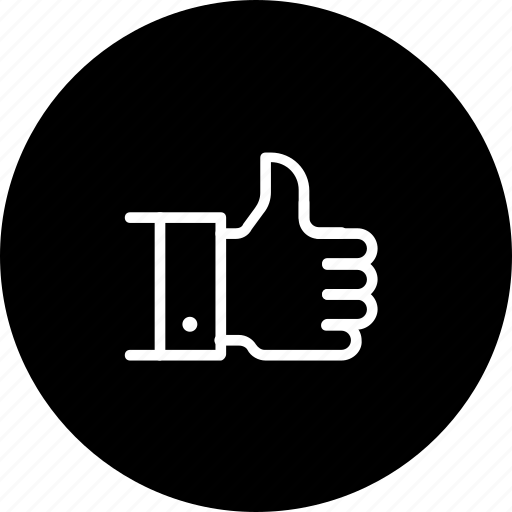 feedback, good, motivate, rating, service, thumsup icon