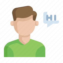 chat, communication, customer, message, support icon
