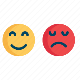 angry, bad, customer, good, reaction, smile, support icon