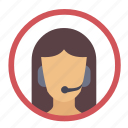 communication, customer support, operator, phone, support, support team icon