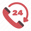 communication, customer support, phone, support icon