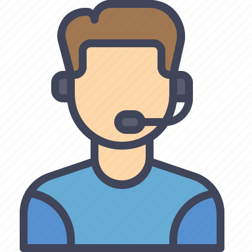 care, customer, help, man, service, support icon