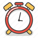 alarm, clock, deadline, emoji, minute, time, timer icon