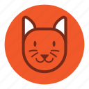 animal, bear, cat, cute, park, tiger, wild, zoo icon