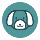 animal, bear, bulldog, cute, dog, park, tiger, wild, zoo icon
