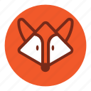 animal, bear, cute, fox, park, tiger, wild, zoo icon