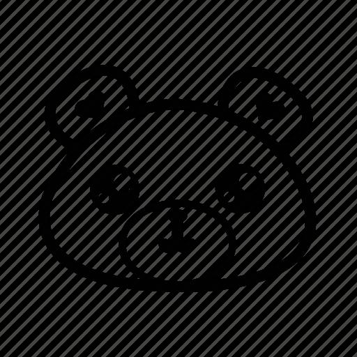 animal bear emoji forest teddy teddy bear icon