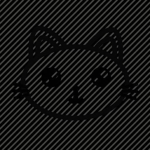 animal, cat, emoji, house animal, kitten, pet icon