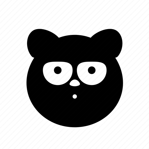 animal, animal4, bear, creature, critter, cute, silly icon