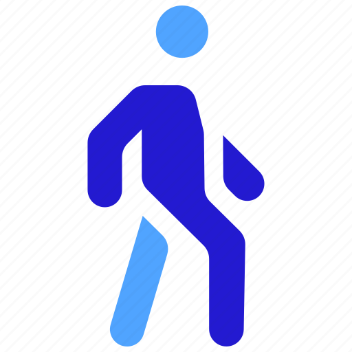 airport, moving, stroll, walking, wandering icon