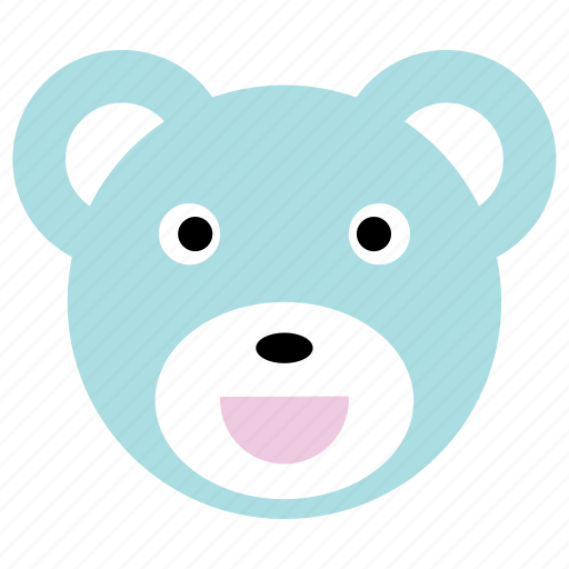 bear, cute, happy, panda, smile icon