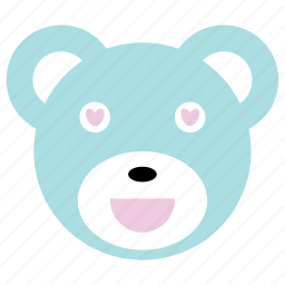 bear, cute, happy, love icon