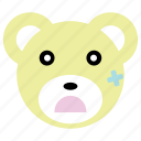 bear, cute, injured, panda, sick icon