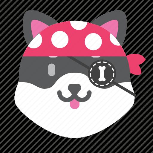 Cute, dog, husky, japan, smile, winter icon - Download on Iconfinder