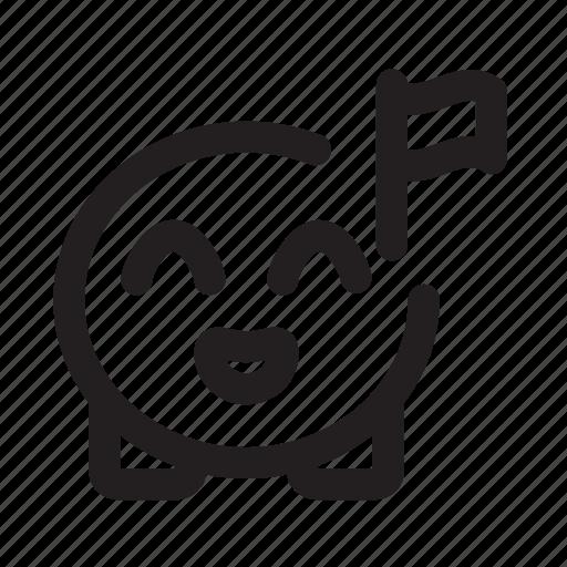 cute, emoji, finish, flag icon