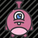 bug, monster, cartoon, character, alien