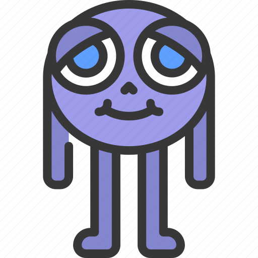 Long, leg, monster, cartoon, character icon - Download on Iconfinder