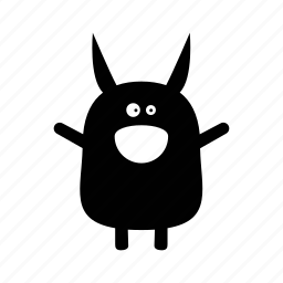 animal, creature, critter, cute, monster, monster7, silly, smiley icon