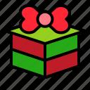 box, gift, present, valentine