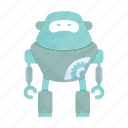 cartoon, character, droid, mascot, robot icon