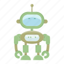artificial intelligence, cyborg, droid, humanoid, robot icon