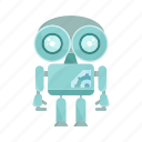 android, cartoon, character, mascot, robot icon