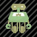 cartoon, droid, machine, mascot, robot