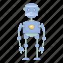 cartoon, character, droid, humanoid, mascot, robot