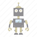 android, artificial intelligence, cyborg, humanoid, robot icon