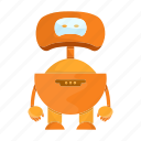 cartoon, character, cute, droid, mascot, robot