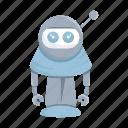 avatar, cartoon, character, droid, mascot, robot
