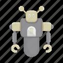 bot, cartoon, cyborg, machine, robot, toy icon