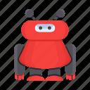 character, cute, humanoid, intelligence, mascot, robot icon