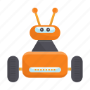 bot, cartoon, droid, machine, robot, toy