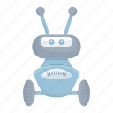 cartoon, cute, droid, mascot, robot