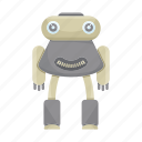 cartoon, character, droid, mascot, robot