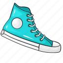 line, set, shoes, sneakers, sport, template icon