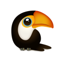 animal, bird, toucan, zoo icon