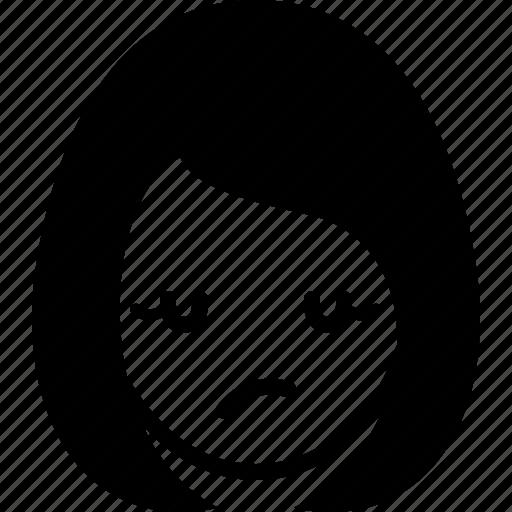 Avatar, emotion, face, girl, woman, wonder icon - Download on Iconfinder