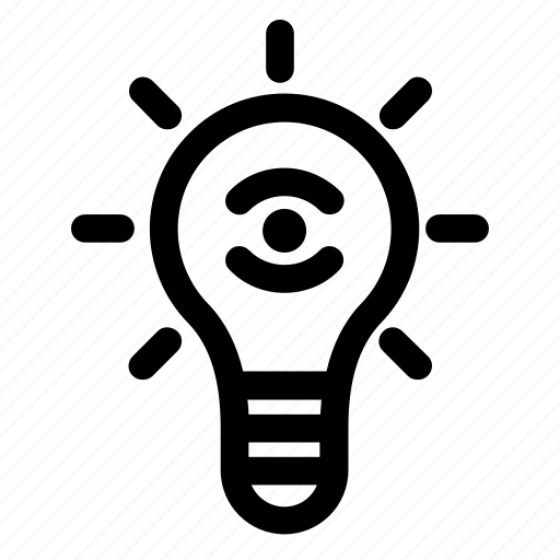 bulb, focus, hypothesis, idea, light, project, solution icon