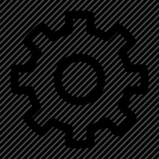 development gears improvement process project wip work icon