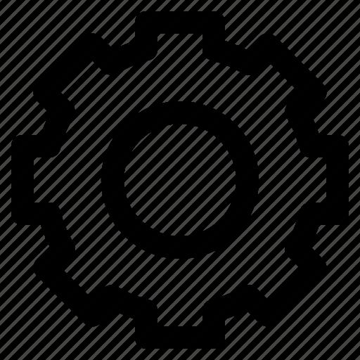 cog, configuration, gear, machine, setting, setup icon